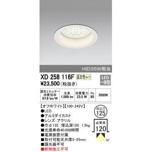 驚きの値段で ODELIC オーデリック XD258116F 限定タイムセール ダウンライト