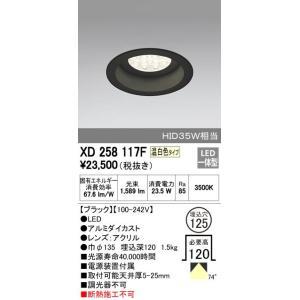 ODELIC オーデリック お求めやすく価格改定 XD258117F ダウンライト お中元