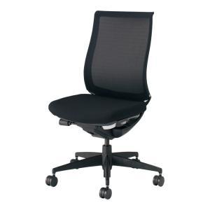 コクヨ オフィスチェア ベゼル CR-2800E6GME6-V モデレートタイプ 樹脂脚 ブラック フローリング用 配送・組立・設置込 代引不可|rcmdse