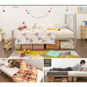 ベッド シングル のびのびベッド 専用マットレス セット 150cm~210cmまで長さが伸縮 シングルベッド マットレス セット のびのび 伸縮 長さ調整 代引不可|rcmdse|04