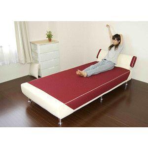 ベッド スタイリッシュベッド リクライニングベッド 背付き 日本製 安心の国産|rcmdse