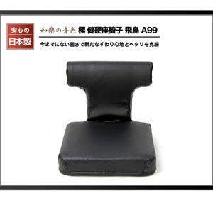 極 健硬座椅子 座いす リクライニングチェア 飛鳥 A99 日本製 腰痛 敬老 ローチェア rcmdse