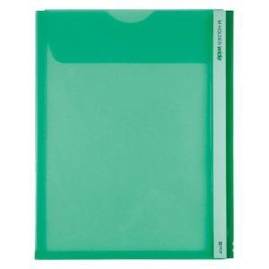 キングジム Mホルダー 緑 1 枚 733Wミト 文房具 オフィス 用品|rcmdse
