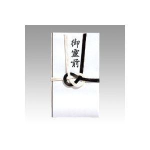 マルアイ 仏金封 黒白7本多当折 御霊前 1 枚...の商品画像