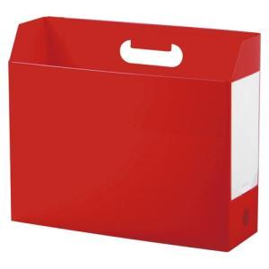 セキセイ アドワン ボックスファイル A4 ヨコ レッド 1冊|rcmdse