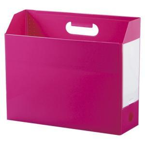 セキセイ アドワン ボックスファイル A4 ヨコ ピンク 1冊|rcmdse