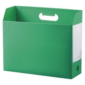 セキセイ アドワン ボックスファイル A4 ヨコ グリーン 1冊|rcmdse