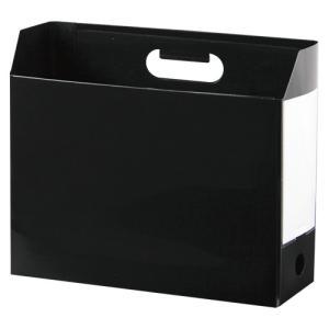 セキセイ アドワン ボックスファイル A4 ヨコ ブラック 1冊|rcmdse