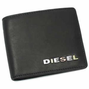 ディーゼル diesel 二つ折り財布 小銭入 jem wallets 00xp31 hiresh bk|rcmdse