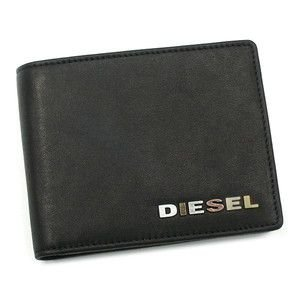 ディーゼル diesel 二つ折り財布 小銭入 jem wallets 00xp32 hiresh small black bk|rcmdse