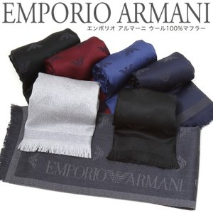 エンポリオ アルマーニ マフラー ウール 6A323 EMPORIO ARMANI エンポリオアルマーニ おしゃれ プレゼント ギフト ラッピング|rcmdse