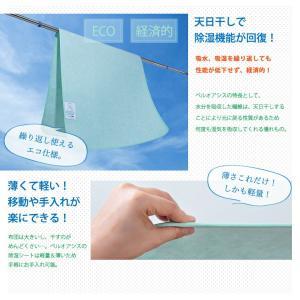 帝人 テイジン TEIJIN ベルオアシス BELLOASIS 日本製 除湿マット 除湿シート ダブルサイズ:130×180|rcmdse|06