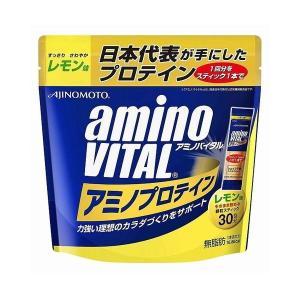 味の素 アミノバイタル アミノプロテイン レモン 30本|rcmdse