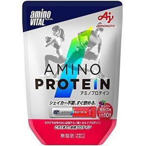 味の素 アミノバイタル アミノプロテイン カシス 10本|rcmdse