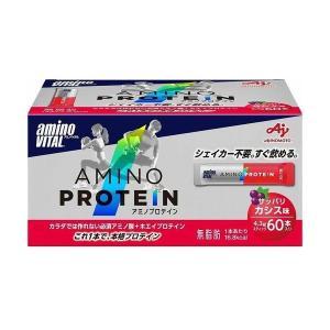 味の素 アミノバイタル アミノプロテイン カシス 60本|rcmdse