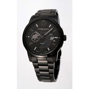 HUNTING WORLD ハンティングワールド ラウンド・トリップ 腕時計 スイス製  HW915BKIP GMT|rcmdse
