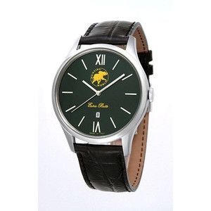 HUNTING WORLD ハンティングワールド コンパーニョ 腕時計 イタリア製  HW014GR 茶皮ベルト 替えベルト付|rcmdse