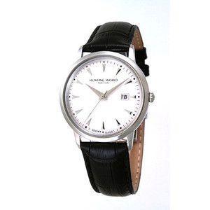 HUNTING WORLD ハンティングワールド プレゼンテ 腕時計 スイス製  HW914SSIBK 黒皮ベルト|rcmdse