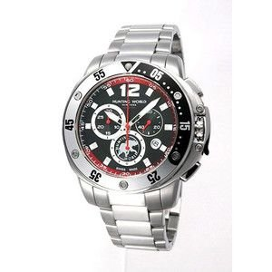HUNTING WORLD ハンティングワールド ハイタイド 腕時計 クロノグラフ スイス製  HW908BKSS|rcmdse