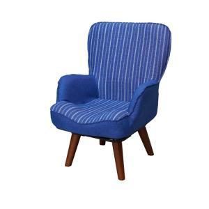 回転式ルームチェア ルノン 回転座椅子 リラックスチェア インテリアチェア コンパクトチェア 一人掛けソファー|rcmdse|05