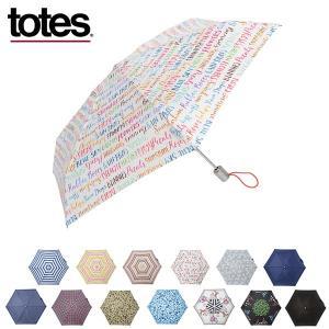 TOTES トーツ 折りたたみ傘 TOTES LINE ライン MINI ミニ 自動開閉 8364 晴雨兼用 メンズ レディース umbrella 雨具 rcmdse