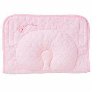 西川産業 babypuff 寝かしつけ枕 ママ楽ね 35×23cm ピンク|rcmdse