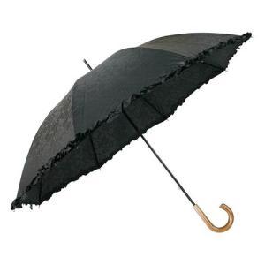 木目調日傘フリル UV rcmdse