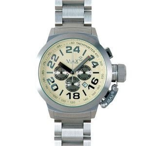MAX XL WATCHES :5-MAX453 47mm Face メタルバンド腕時計|rcmdse