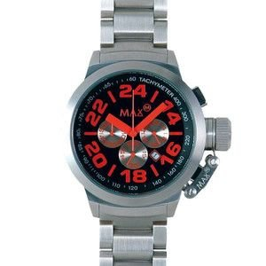 MAX XL WATCHES : 5-MAX456 47mm Face メタルバンド腕時計|rcmdse