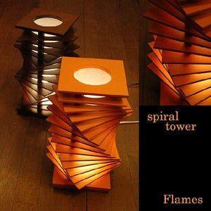 スタンドライト フロア 間接照明 Flames フレイムス spiraltowar スパーラルタワー DS 027BR DS 027DB|rcmdse