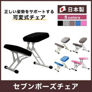 ルネセイコウ 正しい姿勢をサポートする可変式チェア セブンポーズチェア 日本製 完成品 SPC-14W 代引不可|rcmdse