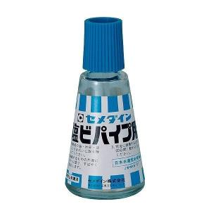 【商品詳細】  塩ビパイプの接合部の接着に適した専用接着剤。キャップにハケがついていて塗布が簡単です...