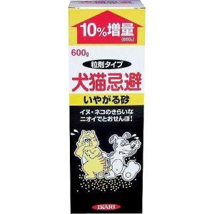 イカリ消毒 イカリ 犬猫忌避 いやがる砂 600g|rcmdse