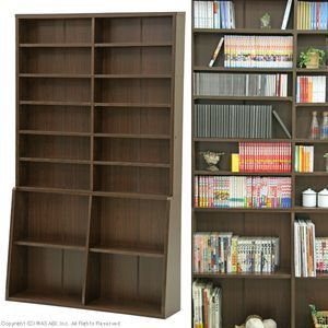 書棚120 BK-1220 ブラウン|rcmdse