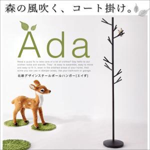 北欧デザインスチールポールハンガー【Ada】エイダ 代引不可|rcmdse