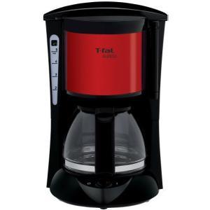 T-fal ティファール 【シンプルで使いやすい】 コーヒーメーカー スビト メタリックルビーレッド CM151GJP rcmdse