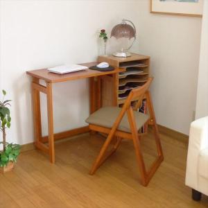 木製テーブルチェアセット 折りたたみテーブル チェア 椅子 イス 天然木 キャスター付き 代引不可 rcmdse