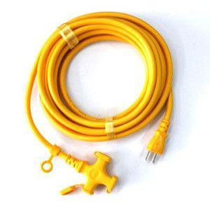KOWA・延長コード15A−5M−3・KM109-5キイロ 電動工具:電工ドラム・コード:延長コード1 ポイント10倍
