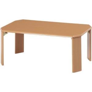 不二貿易 ローテーブル ウッディ 7550 LBR 7550LBR 10025|rcmdse