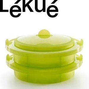 ルクエ・2層同時調理スチーマ 蒸し器 Lekue スチーマー|rcmdse