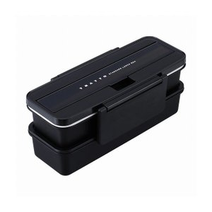 レック ランチボックス ブラック TRATTO -トラット- KK-077