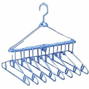 レック 折りたたみ 8連ハンガー 洗濯ハンガー