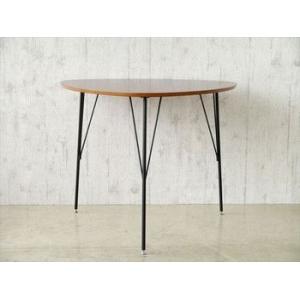 【DT-COLINA】 ダイニングテーブル 三本足 丸形 テーブル 食卓テーブル 丸テーブル 円卓 木製 新生活 北欧 ミッドセンチュリー rcmdse