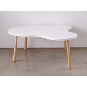 【CURU/クル】 センターテーブル Lサイズ ローテーブル クル リビングテーブル ホワイト|rcmdse