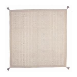 インド綿ボンディングラグ クラック 約185×240cm WH 代引不可|rcmdse
