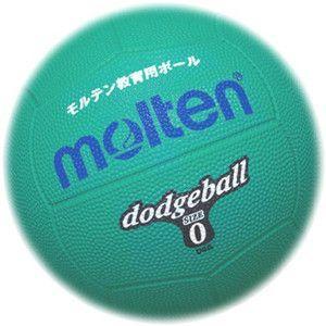モルテン molten ゴムドッジボール0号球 GR(緑) D0G ポイント10倍
