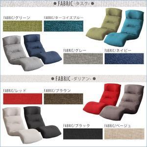 日本製リクライニング座椅子(布地、レザー)14段階調節ギア、転倒防止機能付き | Moln-モルン- Down type (代引き不可)|rcmdse|03
