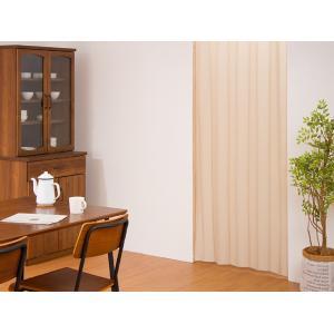 間仕切りカーテン 幅100cm テイジン エコリエ使用 パタパタ 遮熱 保温 遮像 UVカット つっぱり式 カーテン のれん|rcmdse|08