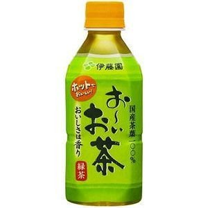 伊藤園 お〜いお茶 緑茶 ホット用 345ml×24本 1ケース おーいお茶 ポイント10倍
