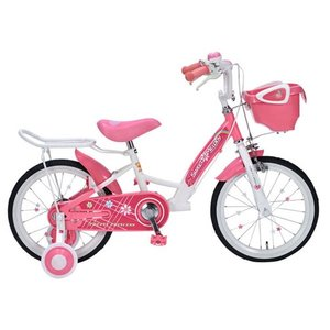 マイパラス MYPALLAS 自転車 子供用自転車 16インチ MD-12 2色 カゴ付 補助輪付 キッズサイクル 代引不可|rcmdse|03